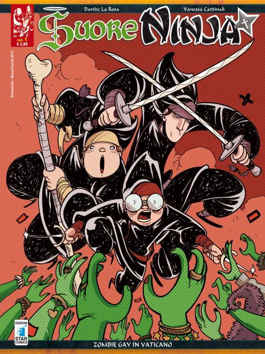 Star Comics inaugura la sua linea digitale con l'e-book del primo numero di Suore Ninja