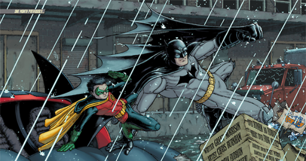 Batman Incorporated #3 (Morrison, Burnham, Irving)