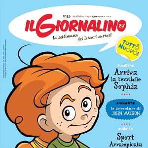 """Su Il Giornalino """"Sophia"""", il nuovo fumetto di Beppe Ramello e Marco Meloni"""