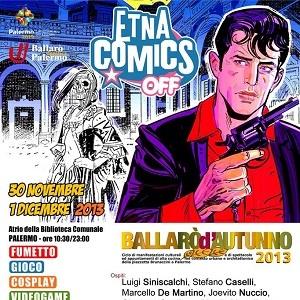 """Parte la saga di """"Etna Comics OFF"""": prima tappa Palermo"""