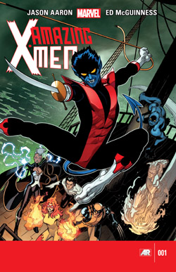 Amazing X-Men #1 – The quest for Nightcrawler Part 1 (Aaron, McGuinness)