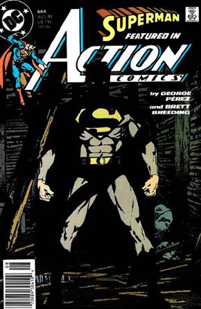 Action Comics #644 - Luca Casalanguida