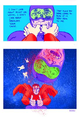 Superinnaturale: L'Uomo d'acciaio di Tom Scioli