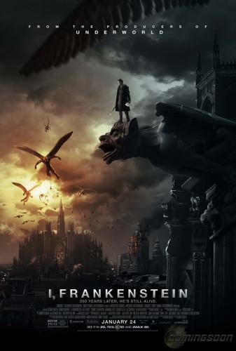 Il nuovo poster di I, Frankenstein