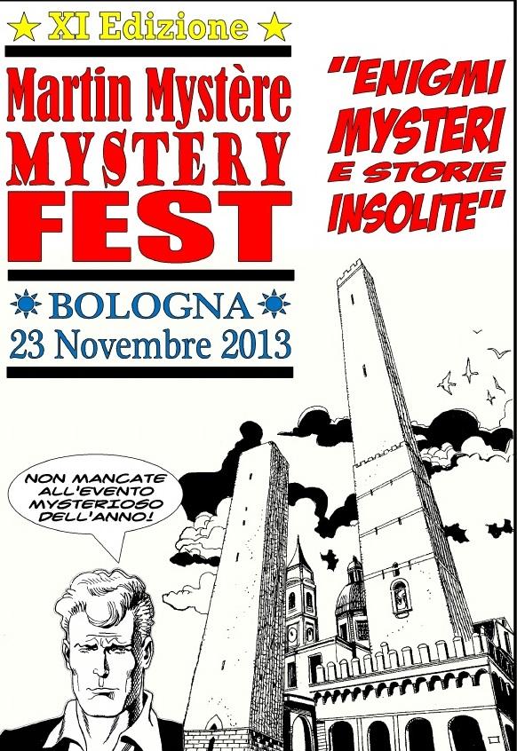 Il 23 novembre inizia l'undicesima edizione del Mystère Mystery Fest