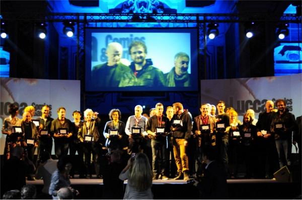 """Tutti i vincitori del premio """"Gran Guinigi"""" di Lucca Comics & Games 2013"""