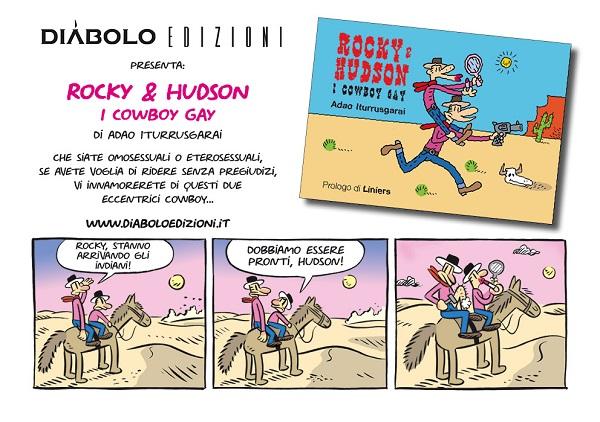 "Diábolo Edizioni presenta: ""Rocky & Hudson. I cowboy gay."""