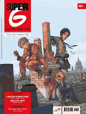 """""""I Quattro di Baker Street - il caso della Tenda Blu"""", la nuova storia a fumetti pubblicata su Super G"""