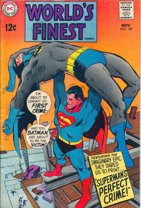 World's Finest Comics #180 - Claudio Villa