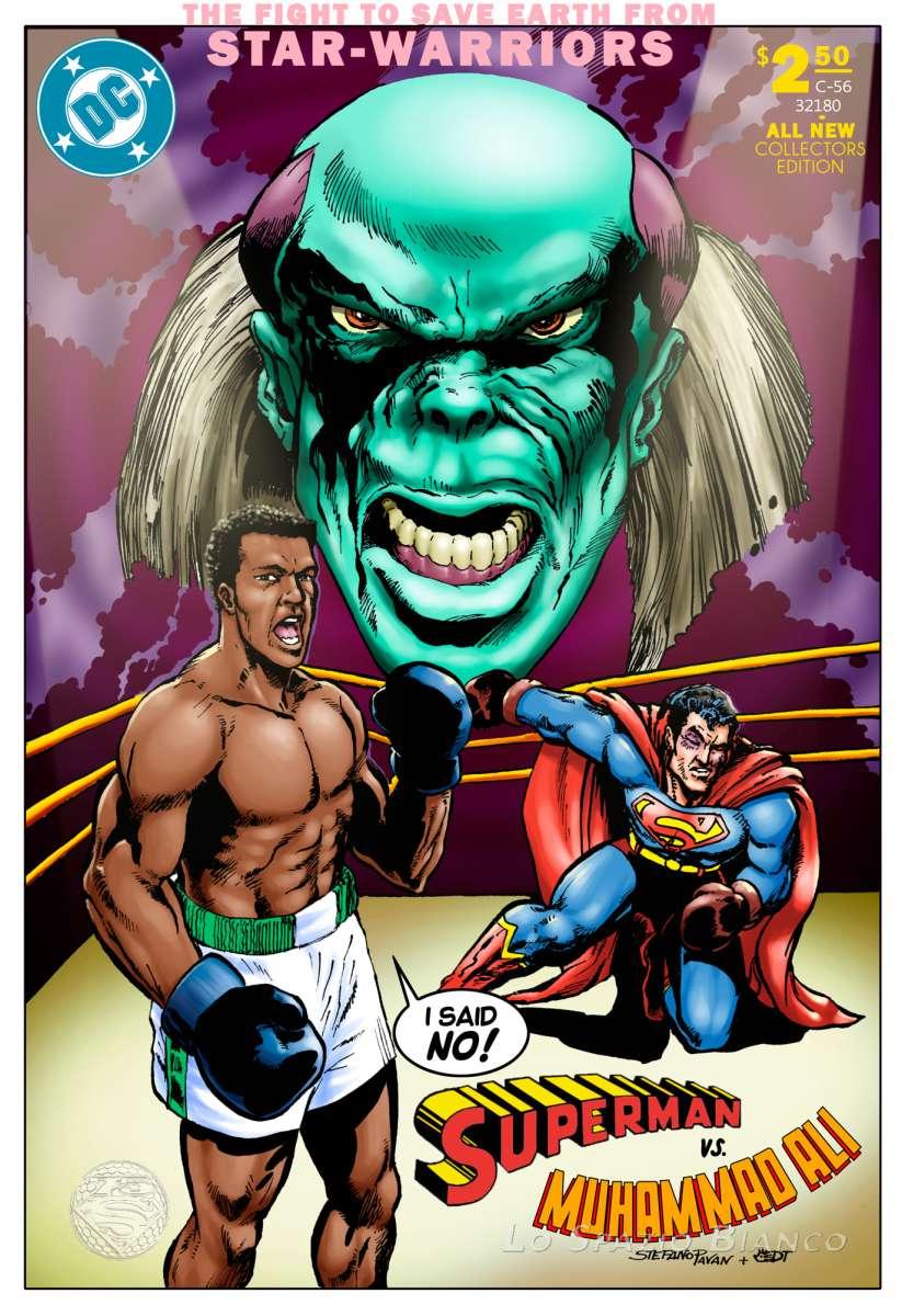 Superman Vs Mohammad Ali – Stefano Pavan e Daniele Tomasi