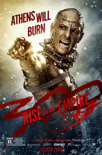 300: l'Alba di un Impero - Atene brucia nel nuovo poster