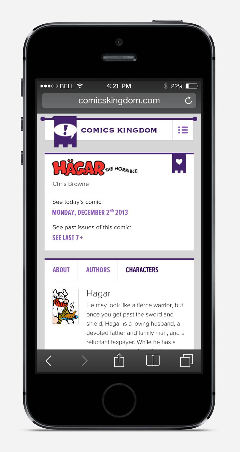 comics-kingdom-iPhone_Notizie