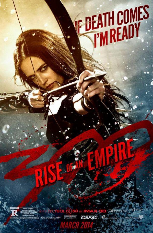 300: l'Alba di un Impero - Terzo character poster
