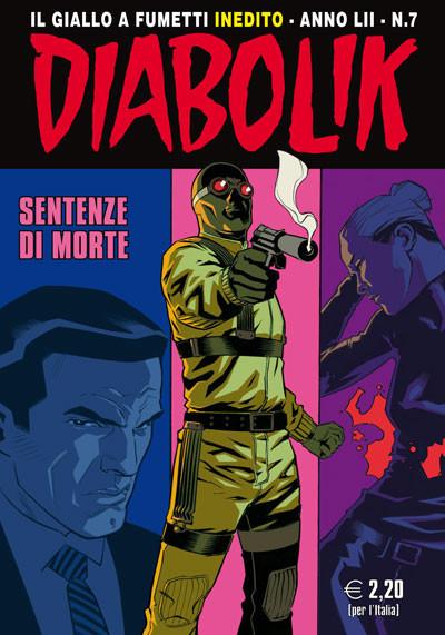 Matteo Buffagni è il nuovo copertinista di Diabolik