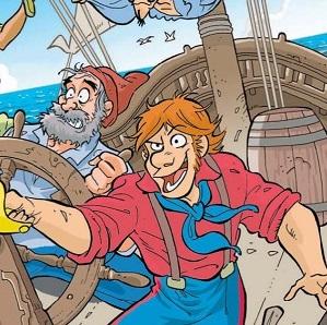 """Sul mensile per ragazzi """"Super G"""" di dicembre ritornano le serie a fumetti """"Assenzio"""" e """"Spada"""""""