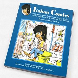 """E' nato """"Italian Comics"""", periodico settimanale online curato da Romano Garofalo"""