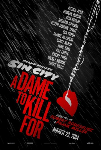 Teaser poster per Sin City: A Dame to Kill For