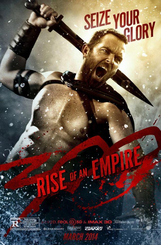 Quarto character poster per 300: l'Alba di un Impero