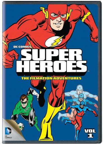 I cartoon DC Comics della Filmation in dvd