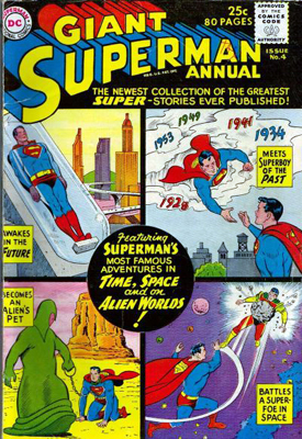Supermani: tutti i padri nobili dell'Uomo d'Acciaio