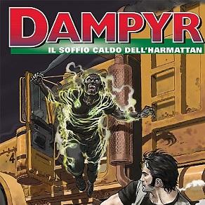 Dampyr #166 – Il Caldo Vento dell'Harmattan (Falco, Califano)