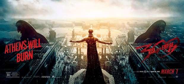 300: L'alba di un Impero - Atene brucia nel nuovo banner