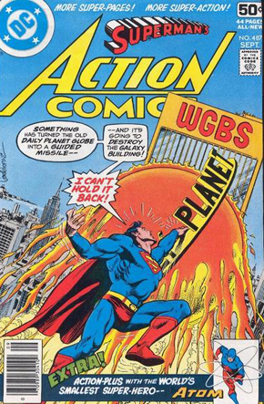 Action Comics #487 - Riccardo Nunziati