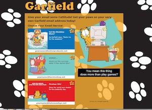 E-mail targate Garfield