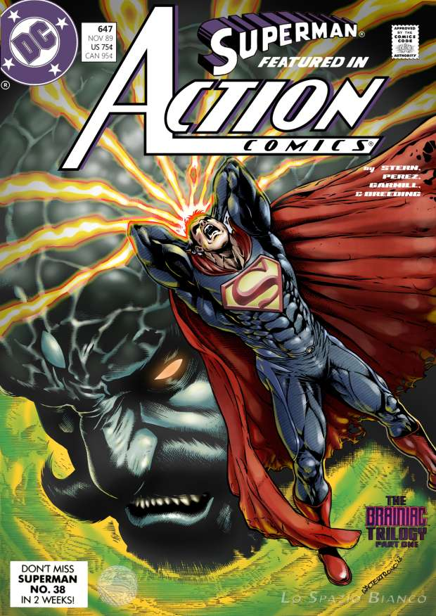 Action Comics #647 – Walter Trono