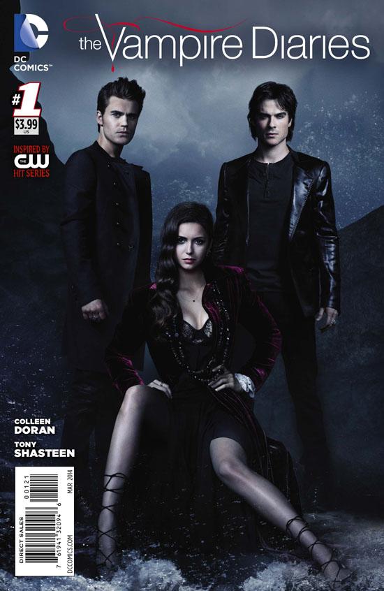 Vampire Diaries 1 Variant Print Cover