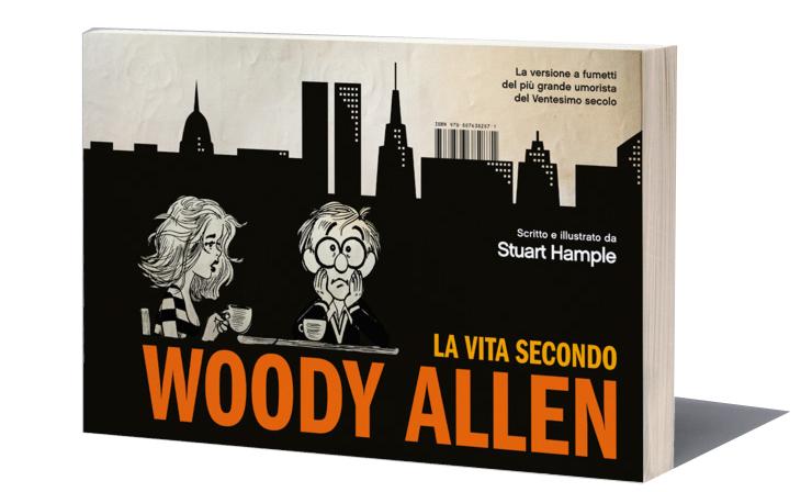 """Ristampa de """"La vita secondo Woody Allen"""", strisce umoristiche sul cineasta newyorchese"""