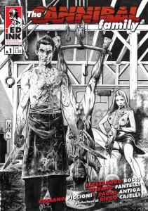 """Edizioni Inkiostro presenta """"The Cannibal Family"""", la nuova serie a fumetti di Stefano Fantelli e Rossano Piccioni"""