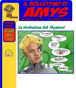 """Per tutti i fan di Martin Mystere è disponibile online il nuovo numero del """"Bollettino di Amys"""""""