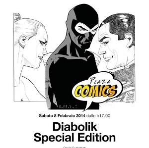 Sabato 8 febbraio quarto appuntamento Plaza Comics! dedicato a Diabolik