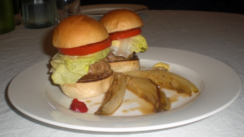 cheeseburger di Basilico