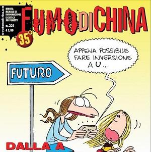 """""""Fumo di China"""" n.221 è disponibile in edicola e fumetteria"""