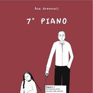 """Le edizioni Hop! presentano """"7° piano"""" di Åsa Grennvall, un toccante graphic novel sulla violenza di coppia"""