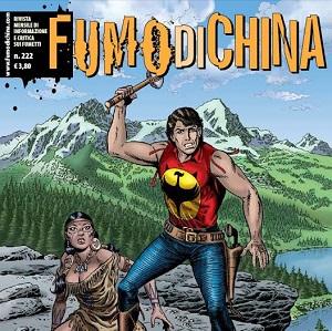 """""""Fumo di China"""" n.222 è disponibile in edicola e fumetteria"""
