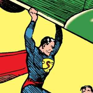 Cover originale Action Comics 15 all'asta a New York