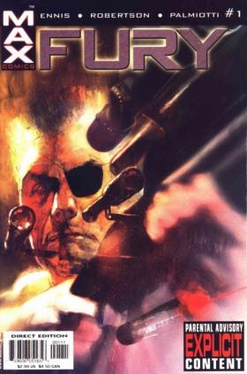 La cover del primo numero di Fury © Marvel Comics.