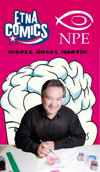 Miguel Angel Martin ospite della Nicola Pesce Editore ad Etna Comics