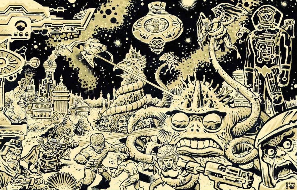Omaggio al Re: artisti italiani onorano la memoria di Jack Kirby
