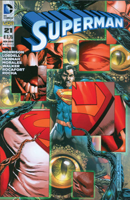 Superman 21 Cover