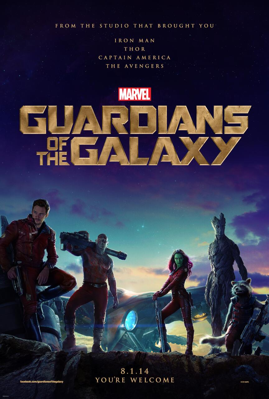 Guardians of The Galaxy: il poster ufficiale