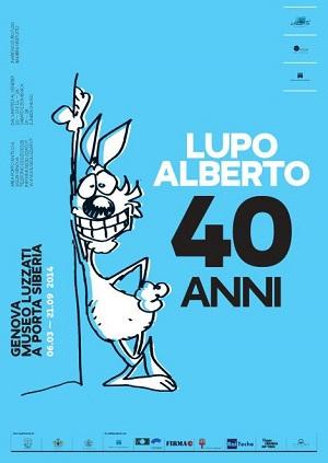 """Inaugurazione della mostra """"Lupo Alberto, 40 anni"""" dedicata al personaggio di Silver"""