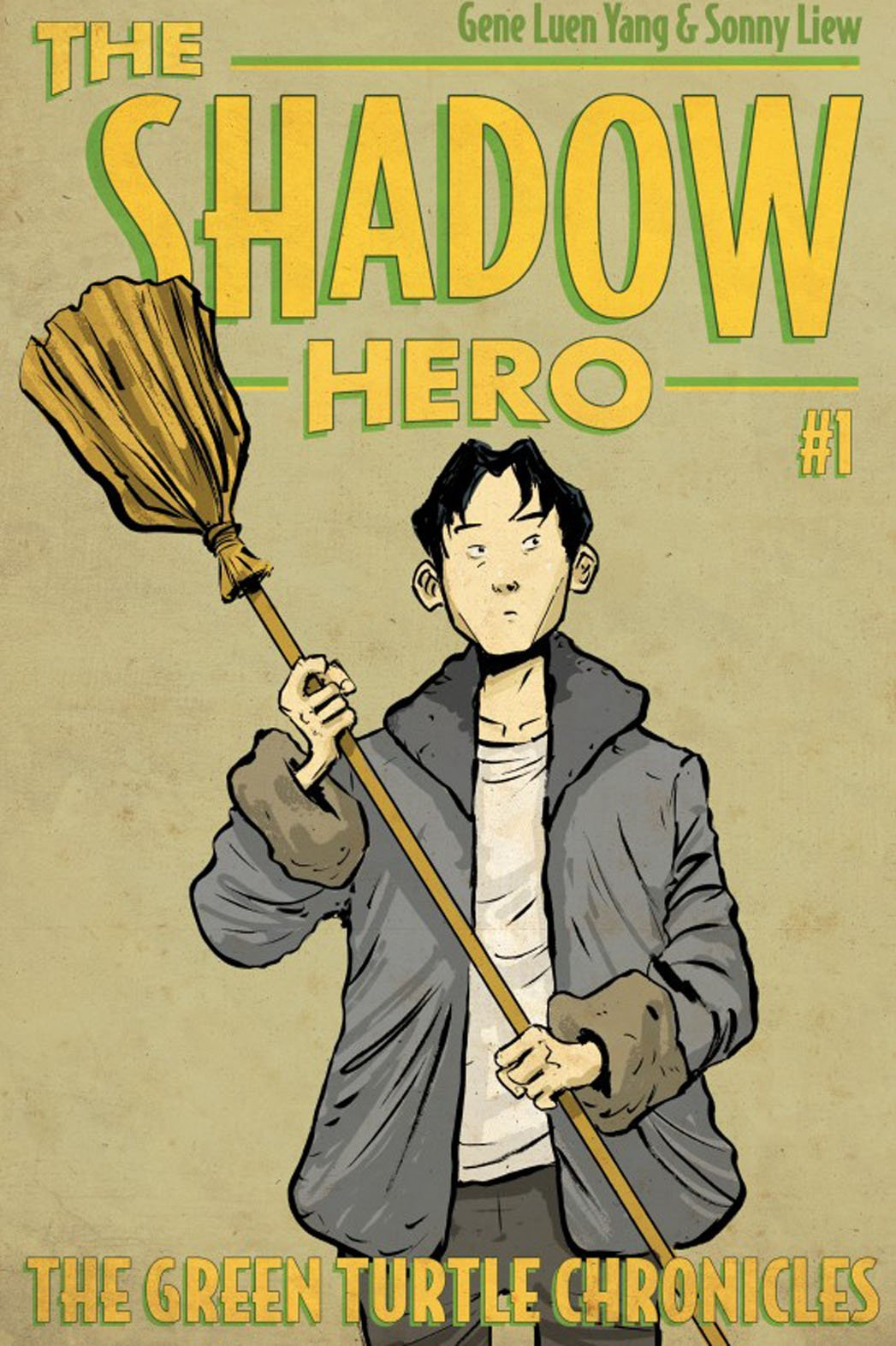 The shadow hero: Il ritorno di Green Turtle