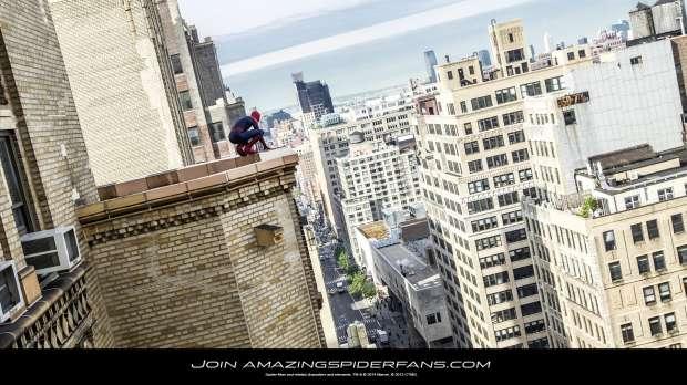 Un wallpaper per The Amazing Spider-Man 2