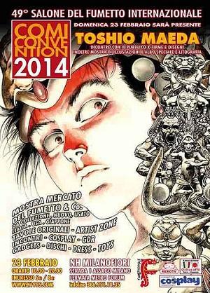 Comiconvention 2014: per la prima volta in Italia Toshio Maeda