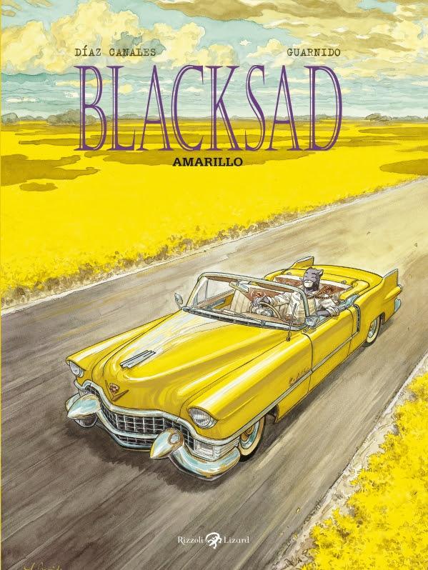 """Rizzoli Lizard presenta """"Amarillo"""", il nuovo volume di Blacksad di Canales e Juanjo Guarnido_Notizie"""