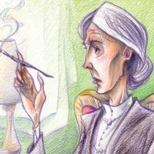 """""""Una stanza tutta per tre"""", l'opera prima di Alessandro Bacchetta, protagonista Virginia Woolf"""